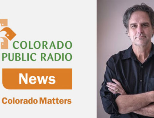 "David Appears on ""Colorado Matters,"" a Colorado Public Radio Show"