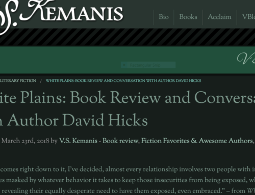 David's Interview with V.S. Kemanis